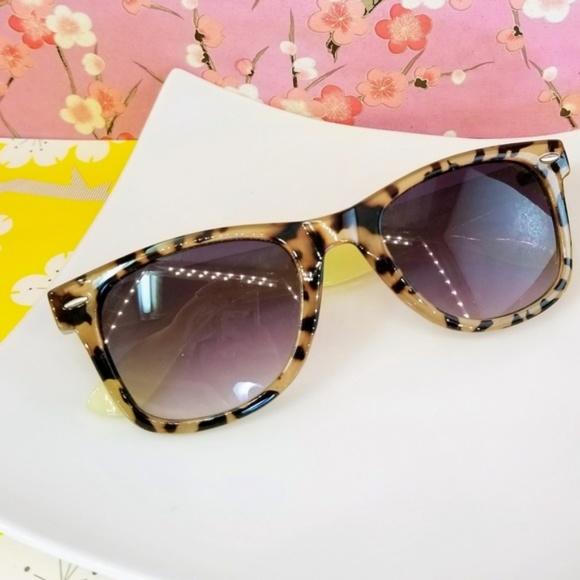 49074eeed0b Aldo tortoise shell cream brown sunglasses